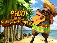 Играйте на деньги в автомат Paco And Popping Peppers: это прибыльно